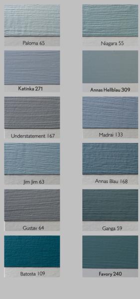 Anna von Mangoldt Farben - Blautöne