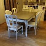 alte Möbel aufarbeiten - Esszimmer