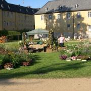 white wash auf Schloss Dyk